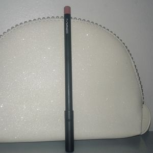 MAC Boldly Bare Lip Pencil & Pearl Cosmetic Case